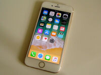 Apple iPhone 6 Gold 16GB (O2, Tesco, GiffGaff) in MINT Condition with accessories