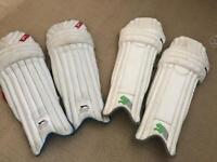 Youth cricket pads