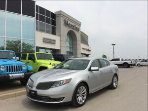 2013 Lincoln MKS Navigation, Cam, Bluetooth, Clean Carproof