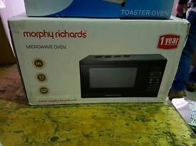 Morphy richards mircowave brand new