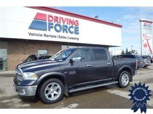 2016 Ram 1500 Laramie 4WD Crew Cab, 5.7L V8 Gas, 20,723 KMs