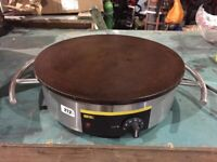 Buffalo CC039 Commercial Crepe Maker Electric Cast Iron Catering