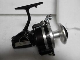 seawater fixed spool reel, made in the UK