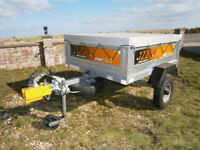 Erde 122.2 Trailer With Accessories