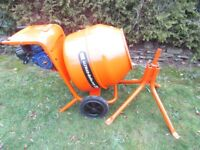 Belle cement mixer Petrol and recently refurbished