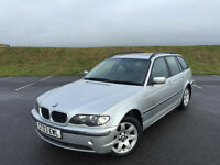 STUNNING BMW 318 SE ESTATE FULL LEATHER FULL SERVICE HISTORY BRAND NEW CLUTCH!