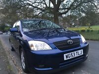 Toyota Corolla Navy Blue 5dr