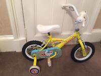 Girls 12 inch Apollo Bike with Stabilisers