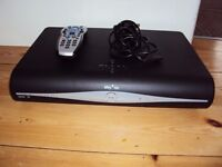 SKY + HD BOX WITH REMOTE & POWER CABLE