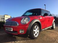 Mini One 1.4L Petrol 3 Door Hatch, low mileage, great condition, recently serviced, 12 months MOT