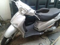 Pretty Piaggio Liberty Scooter - 2013 - Silver - Mint Condition - Delivery Miles Only