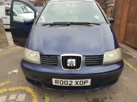 Seat Alhambra 2002 (SPARES OR REPAIR), STARTS AND DRIVES OFFERS!!