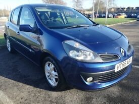 2006 Renault Clio 1.4 Dynamique (AC), Blue, 97k, FSH, Feb 19 MOT, very well maintained, vgc