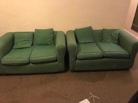 2 x free sofas