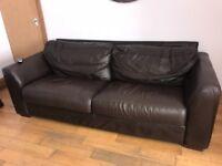 Leather Sofa Suite