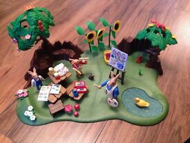 Playmobil Rabbit Art Picnic Scene