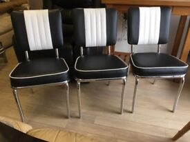 3 Bel Air Dining Chairs
