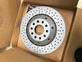 Audi RS6 brake discs, pair, Zimmerman. Brand new