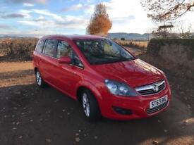 2013 Vauxhall Zafira 1.7cdti ecoflex sat-nav low miles