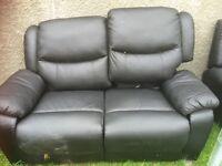 3-2 black sofa