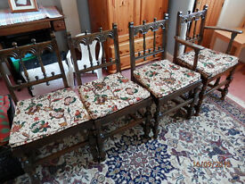 Ercol Dining chairs Old colonial
