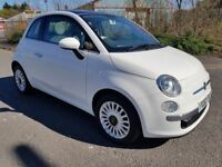 2013 (63) Fiat 500 Lounge 1.2 (S/S) 3dr with Panoramic Glass Sunroof