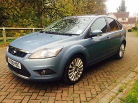 Ford Focus 1.6 Tdci 2008 Titanium X WITH SUNROOF & REVERSE SENSORS ONLY 99k FULL SERVICE 1 OWNER
