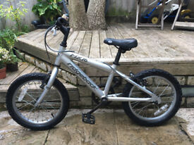 Ridgeback MX16 boys bike / bicycle. Suit 4-6 year old. Used, but good condition. Very sturdy model.