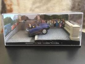 1:43 Renault 11 Taxi - JAMES BOND COLLECTION - A View To Kill - FABBRI