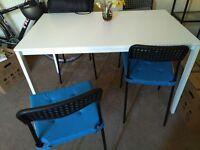 Kitchen Table and 4 Chairs (Ikea) Fantastic condition