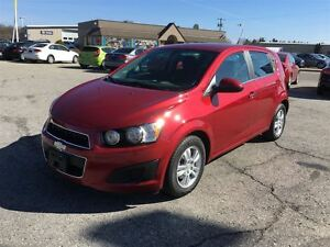 2014 Chevrolet Sonic LT/ HEATED SEATS / SIDE & HEAD CURTAIN AIRB