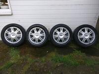 "Ford Fiesta MK4/5 Ghia 14"" Alloys"