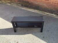 IKEA black tv or side table. SO CHEAP because moving house. Collection only.