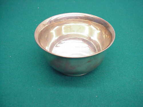 Tiffany and Co M 925/1000 sterling silver small footed bowl  #3224