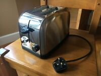 TWO SLICE - STAINLESS STEEL TOASTER