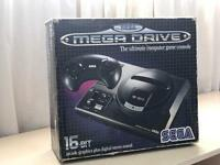 Sega Megadrive Boxed with 8 Games