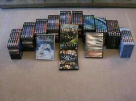 STARGATE DVD'S FULL SERIES (PLUS EXTRA MOVIES) MINT & BOXED