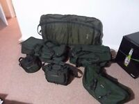 Carp fishing gear from £15. Bedchair,Rods,Reels,Luggage Bivvy,etc