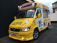 Mercedes Sprinter Soft Ice Cream Van Carpigiani Uno Icecream Machine / Slush Machine / Great Spec!