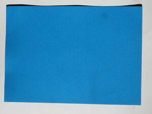 5 feuilles de papier a4 160g m2 couleur bleu oc an ebay. Black Bedroom Furniture Sets. Home Design Ideas