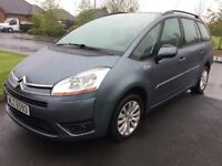 08 CITROEN C4 GRAND PICASSO 2.0 VTR AUTO 7 SEATER P/EX WELCOME