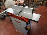 Planer Thicknesser with Extractor