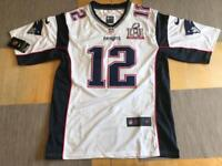 Tom Brady New England Patriots Super Bowl Jersey