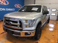 2016 Ford F-150 XLT 4X4/ SUPER CREW/ POWER GROUP/ BACK-UP CAM
