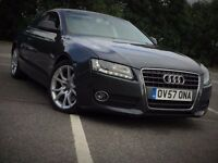 AUDI A5 2.7 DIESEL AUTOMATIC SPORTS EXCELLENT DRIVE GREY MOT COUPE NOT BMW 3 6 SERIES A4 CLK C CLASS