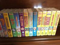 VHS dvds