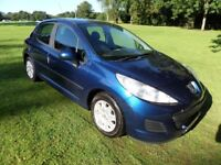 PEUGEOT 207 1.4HDI S 68*£30TAX*FINANCE AVAILABLE*LOW INSURANCE