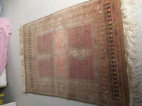 Oriental rug, lovely colours and design