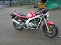 Suzuki GS 500 EY 2001 Y reg red black
