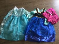 Disney Elsa and Anna Outfits age 9-10 from Disney Store